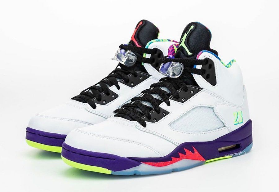Air Jordan 5 Alternate Bel-Air Angled