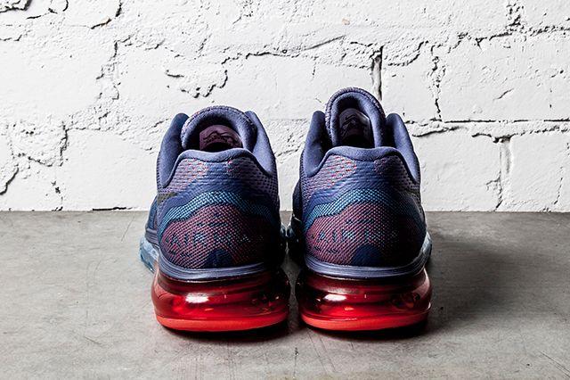 Nike Air Max 2014 Blue Recall Light Crimson 4
