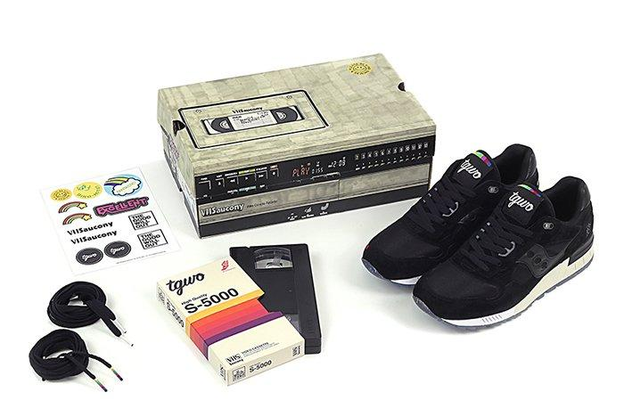 The Good Will Out X Saucony Shadow 5000 Vhs2
