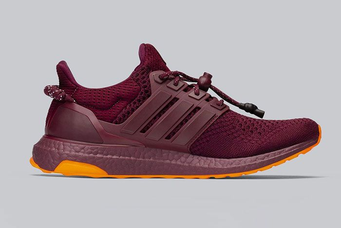 Beyonce Ivy Park Adidas Ultraboost Burgundy Lateral Side Shot