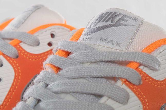 Nike Air Max 90 Wmns Bright Citrus Tongues 1