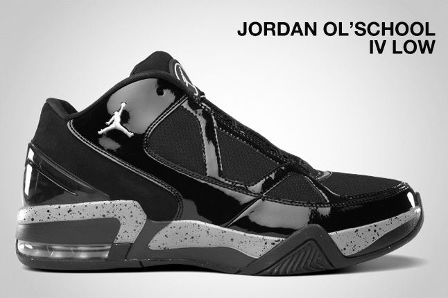 Jordan Ol School Iv Low Black 1