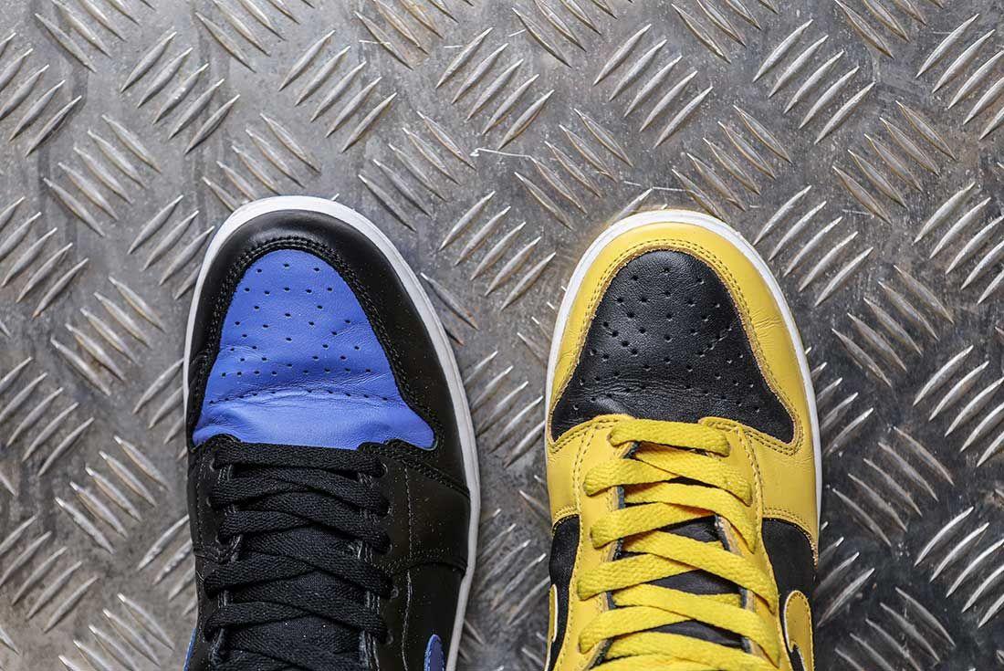Nike Dunk Versus Air Jordan 1 Comparison 1