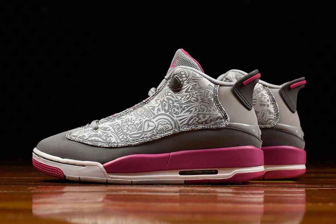 Air Jordan Dub Zero Gg Vivid Pink4
