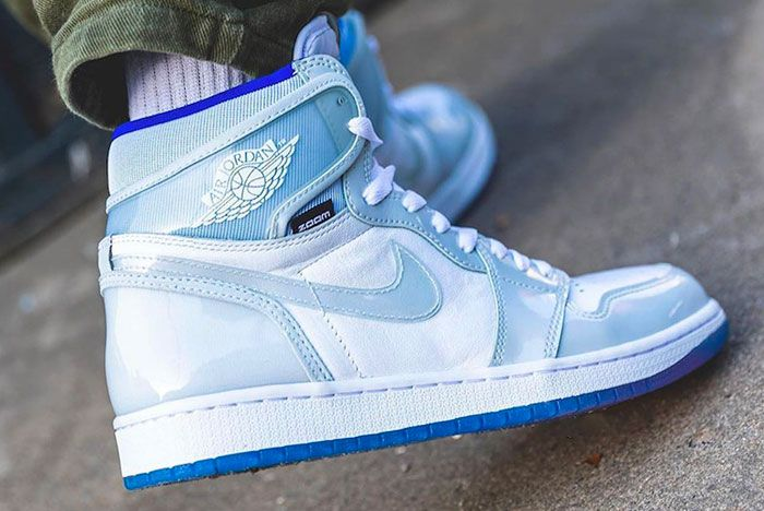 Air Jordan 1 High Zoom Racer Blue Right