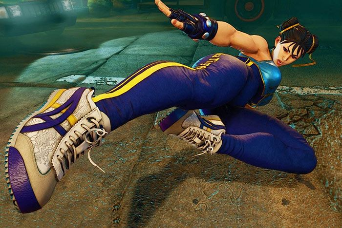 Onitsuka Tiger Street Fighter Chun Li Sneaker In Game