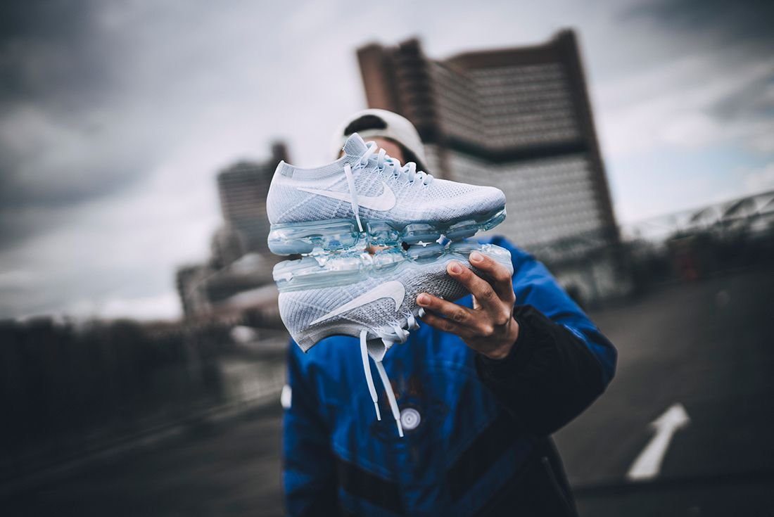 Nike Air Vapormax Pure Platinum On Feet 17