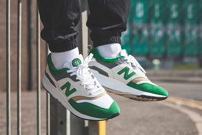 New Balance 997H Celtic On Foot Dangle