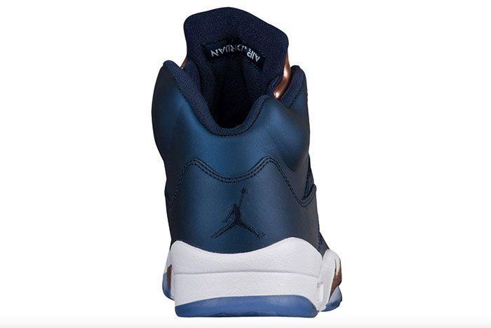 Air Jordan 5 Metallic Blue Bronze 3 1