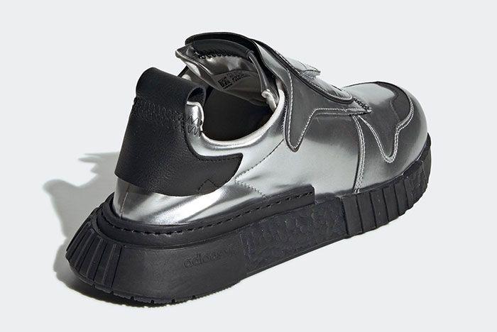 Adidas Futurepacer Silver Metallic Ee5002 Rear Angle