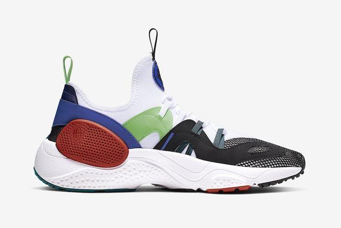 Nike Huarache Edge Txt Water Duck Blue Medial