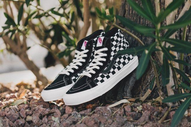 Vans Vault Sk8 Ho Checkerboard Black White 3