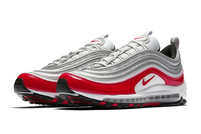 Nike Air Max 97 Silver Red 4