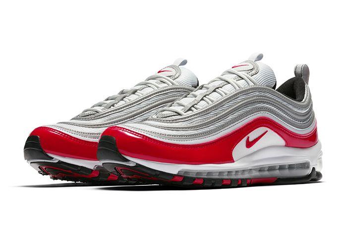 Nike Air Max 97 Silver Red 4