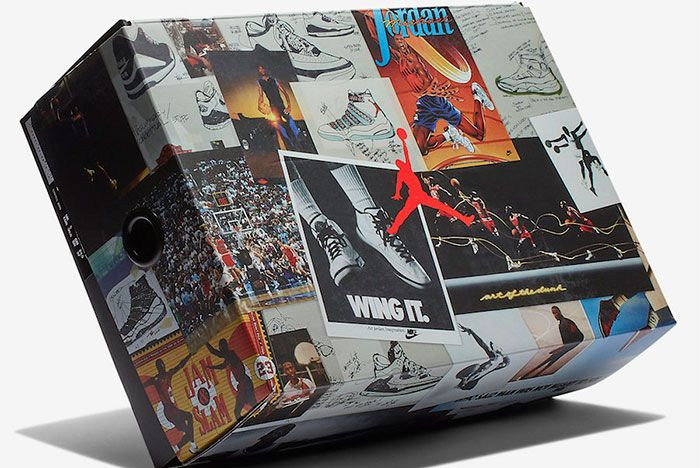 Air Jordan 3 Animal Instinct Box