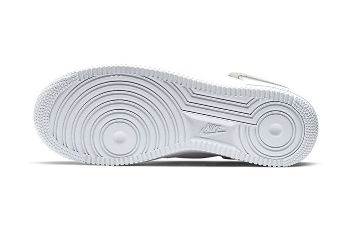 Nike Air Force 1 Inside Out White 898889 103 Release Date Outsole