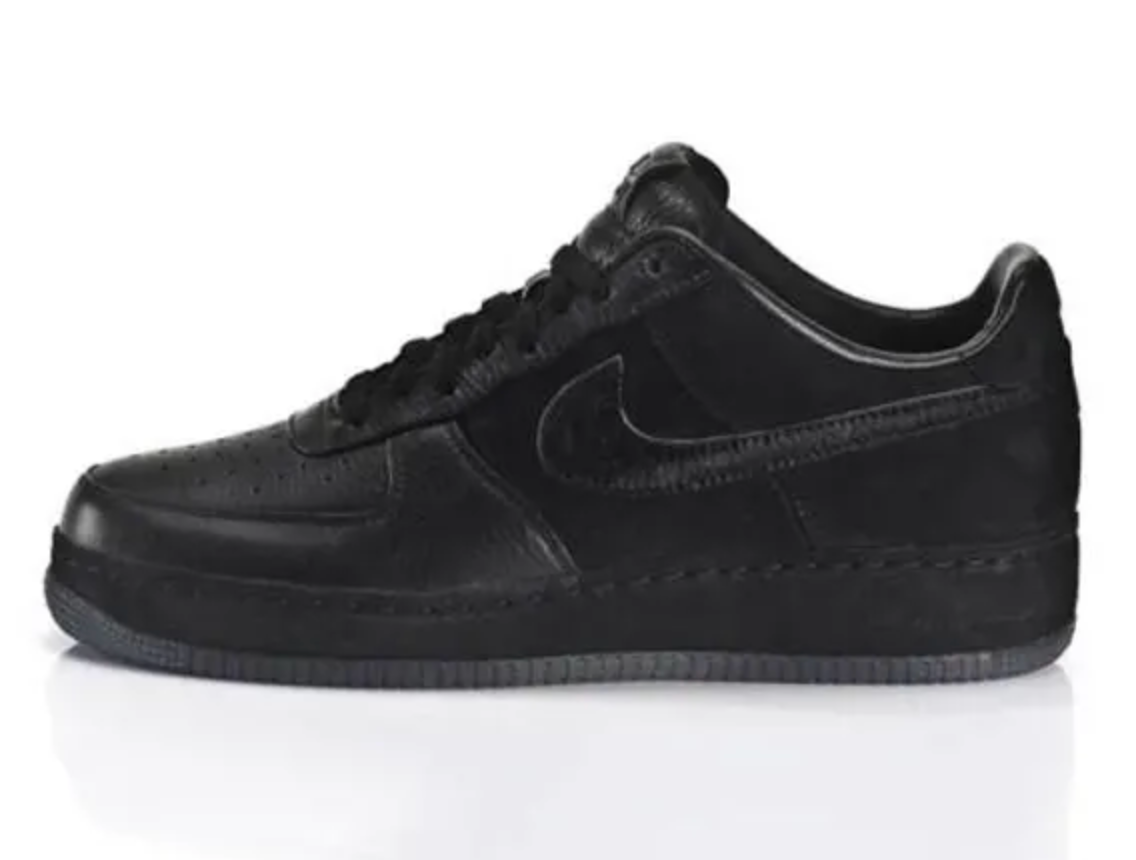 Nike Air Force 1 'All Black Everything China'