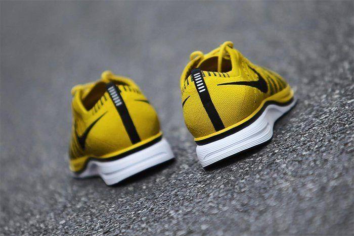 Nike Flyknit Racer Bright Citron 9