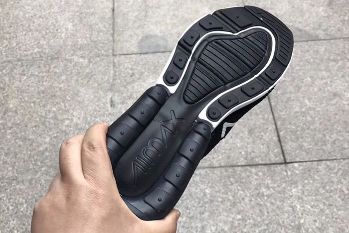 Nikeair Max 270 Flyknit Black White 2