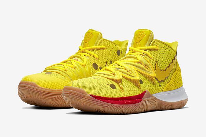 Nike Kyrie 5 Spongebob Patrick Star Left 2