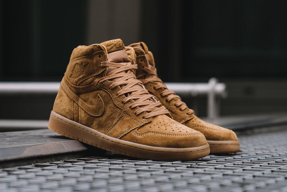 Air Jordan 1 Wheat 3