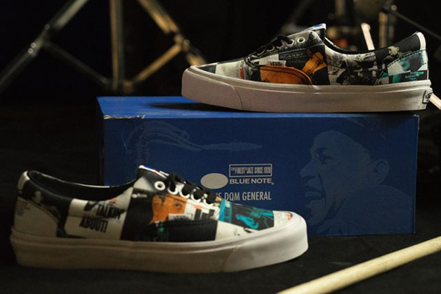 Dqm X Blu Note Records X Vans Collection
