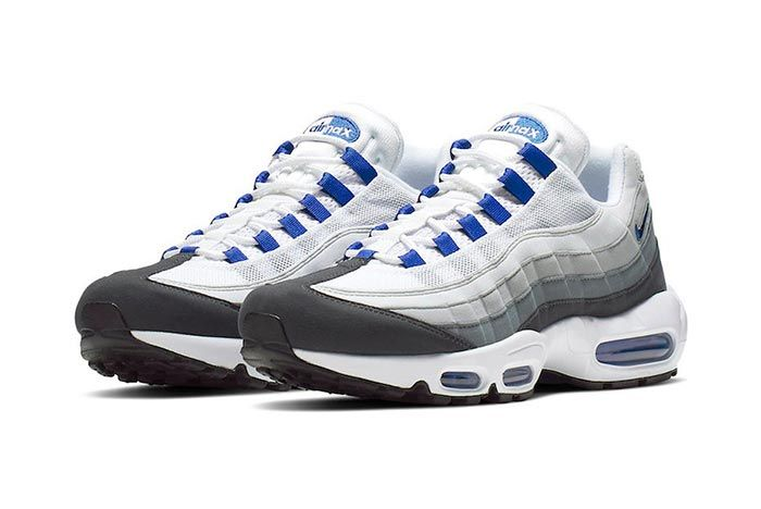 Nike Air Max 95 Sc Racer Blue Front Angle Shot 1