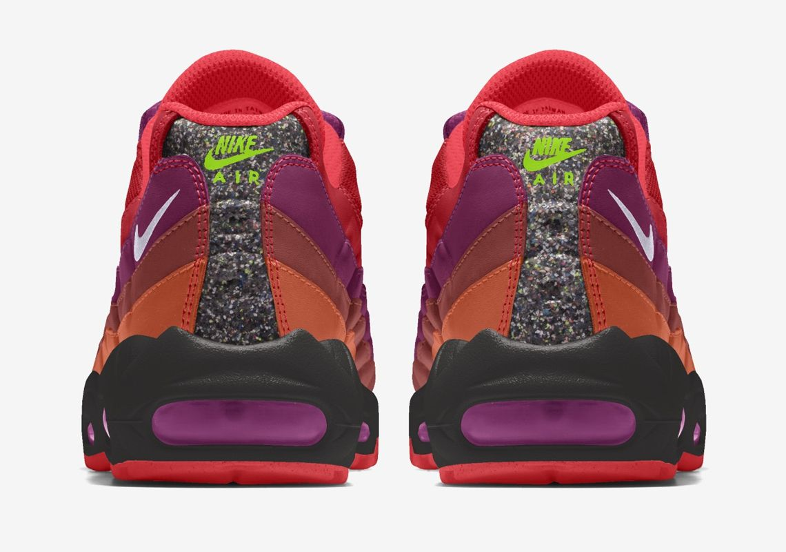 Nike By You Air Max 95 Heel