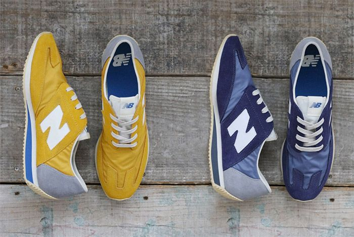 New Balance 320 Retro Blue Yellow 1