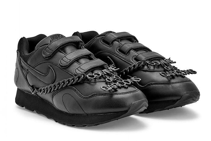 Cdg Nike Outburst Black Quarter
