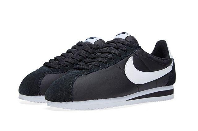 Nike Cortez Classic Black White 2