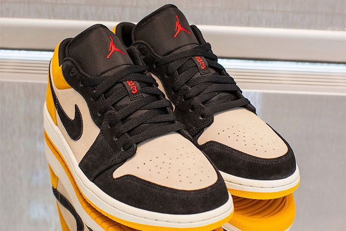 Jordan 1 Yellow Low 1