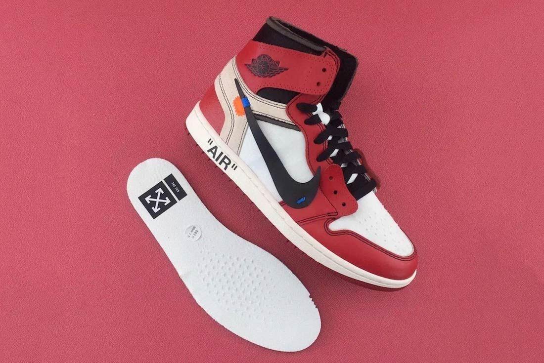 Off White X Air Jordan 1 3