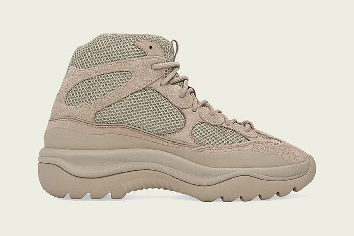 Adidas Yeezy Desert Boot Rock Release Date Lateral