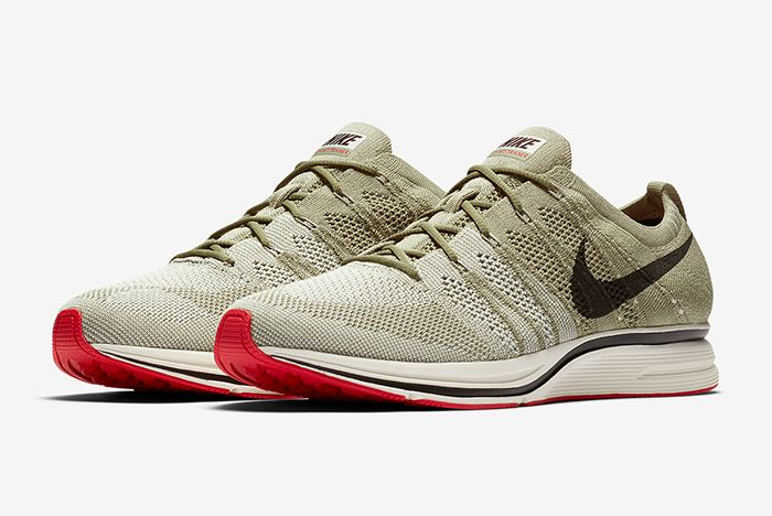 Nike Flyknit Trainer Neutral Olive Release 6