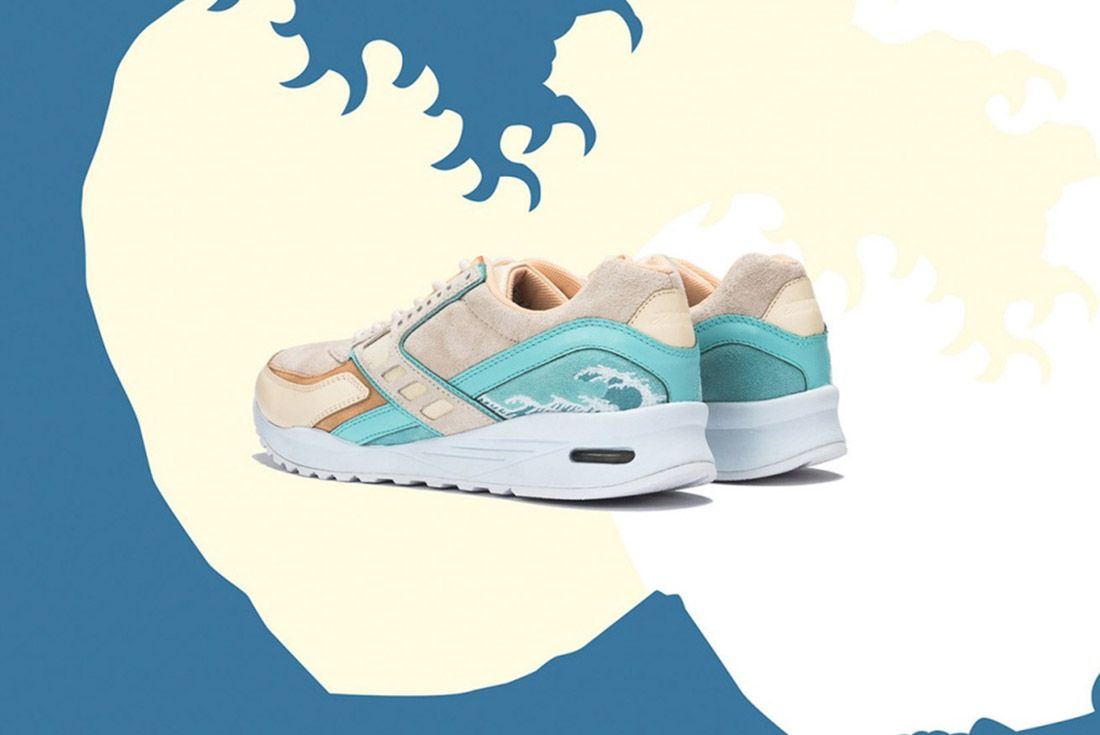 Pink Dolphin Brooks Regent Great Wave 4