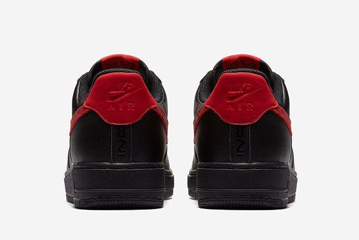 3 Nike Air Force 1 Low Red Paisley Sneaker Freaker
