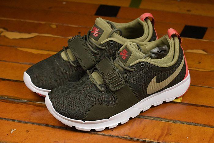 Nike Sb Trainerendor Olive 2