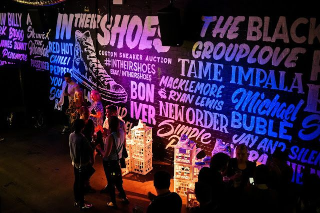 Converse And Warner Music In Their Shoes Charity 9