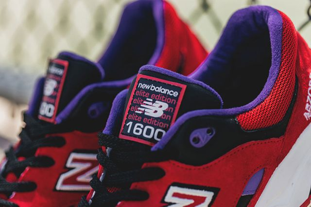 New Balance 1600 Pinball Red 5