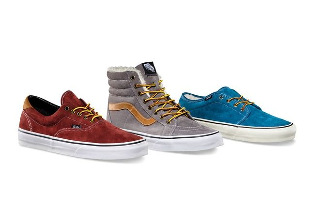 Vans Classics Scotchgard Pack For Holiday 2013