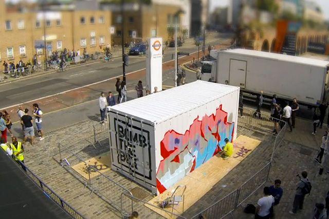 Boxpark Live Graffiti Zombie Dyet Dds 1