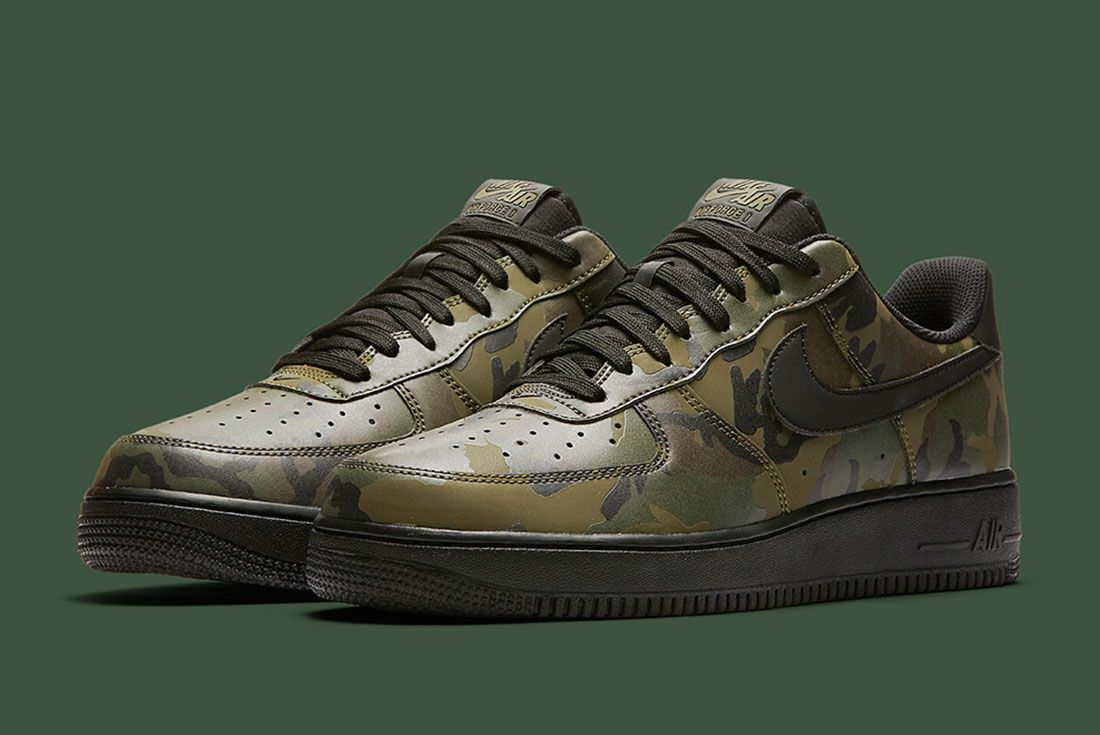 Nike Air Foce 1 Camo Reflective 3