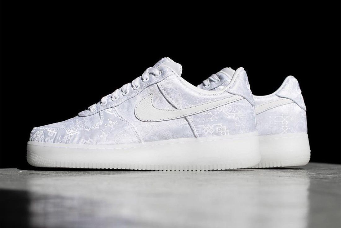 Clot X Nike Air Force 1 White On White 2018 Sneaker Freaker 3