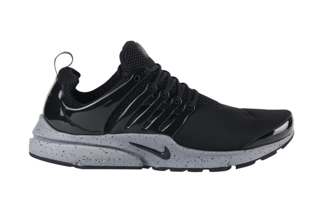 Nike Air Presto Genealogy Black Lateral Side Shot
