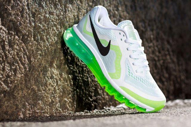 Nike Wmns Air Max 2014 White Green 2