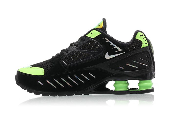 Nike Shox Enigma Lime Blast Ck2084 002 Release Date Lateral