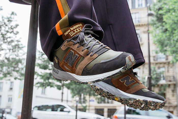 New Balance Made In Uk Season 2 Mtl575 Brown Green On Foot