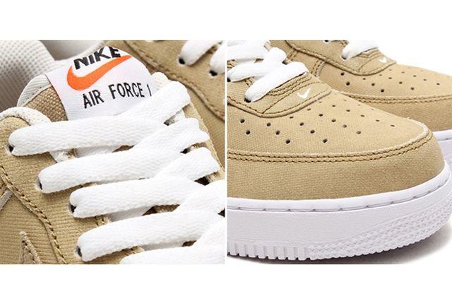 Nike Air Force 1 Canvas Yacht Club Khaki 3