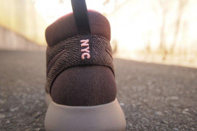 Nike Roshe Run Mid City Pack Nyc Heel Detail 1